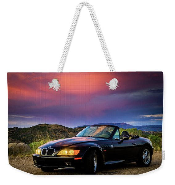 After The Storm - Bmw Z3 Weekender Tote Bag