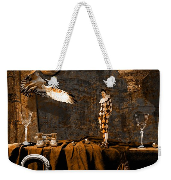 After Theater Weekender Tote Bag
