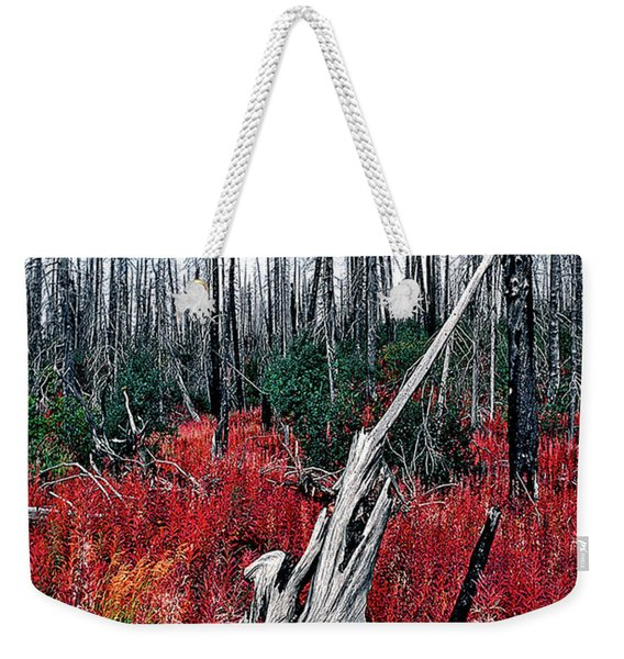 Afterburn Weekender Tote Bag