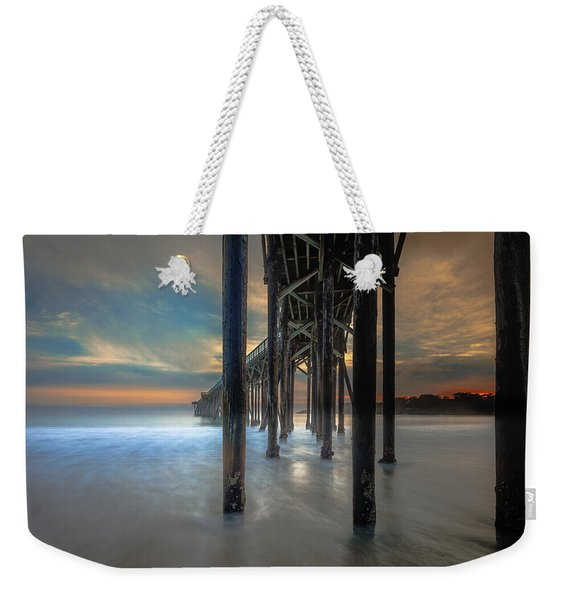 Afterglow At San Simeon Weekender Tote Bag