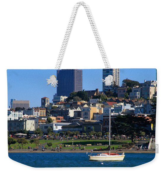 Afternoon At Maritime Park Weekender Tote Bag