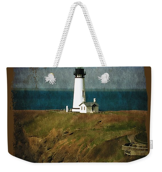 Afternoon At The Yaquina Head Lighthouse Weekender Tote Bag