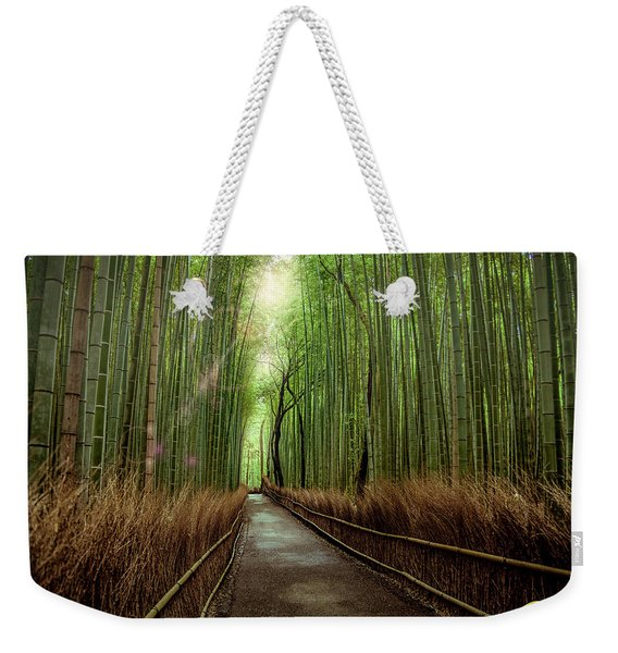 Afternoon In The Bamboo Weekender Tote Bag