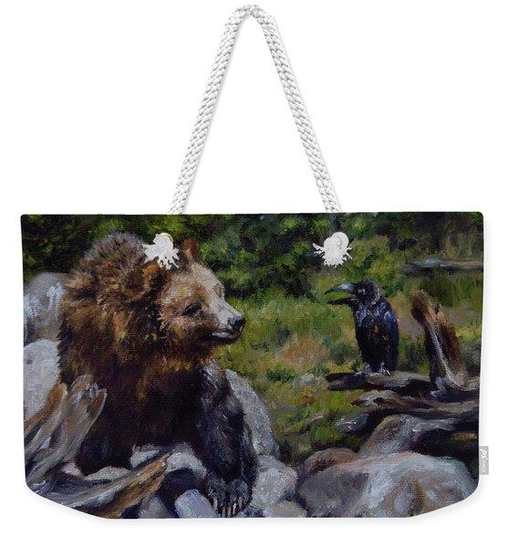 Afternoon Neigh-bear Weekender Tote Bag