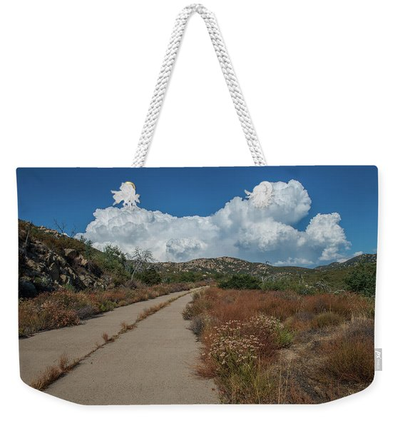 Afternoon, Old Road Weekender Tote Bag