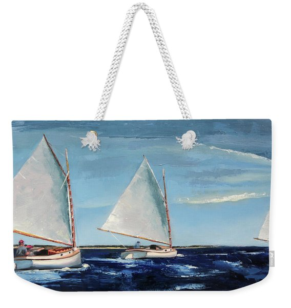 Afternoon Sailers Weekender Tote Bag