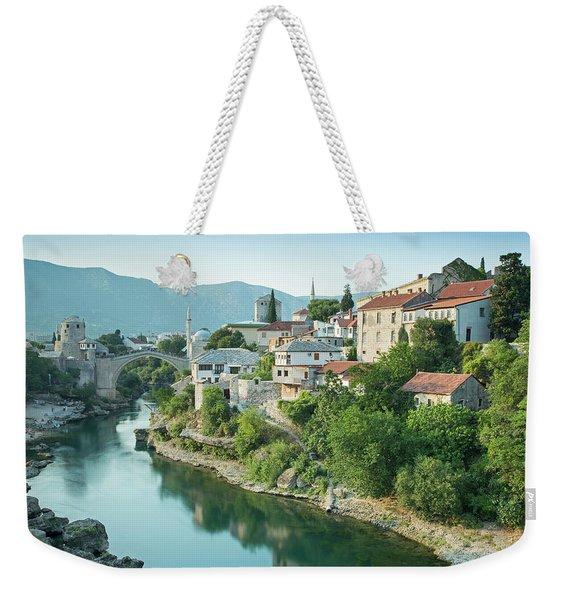 Afternoon Sun, Mostar Weekender Tote Bag