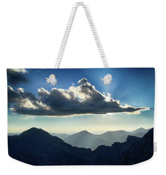 Afternoon Sunburst Weekender Tote Bag