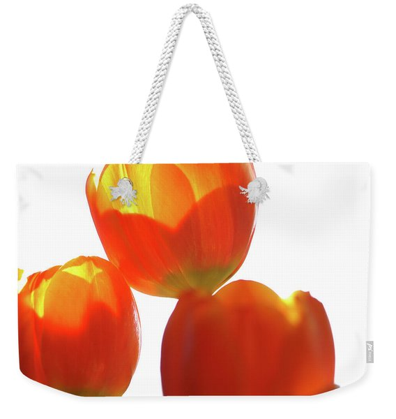 Afternoon Tulips Weekender Tote Bag