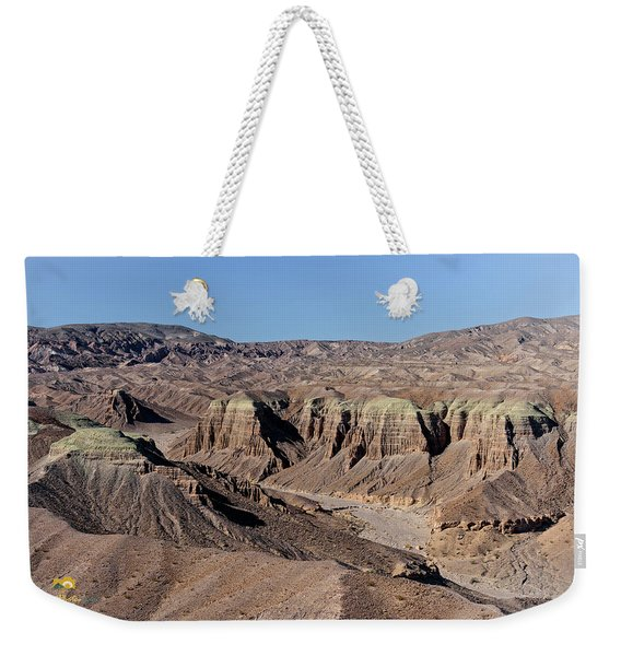 Weekender Tote Bag featuring the photograph Afton Canyon by Jim Thompson