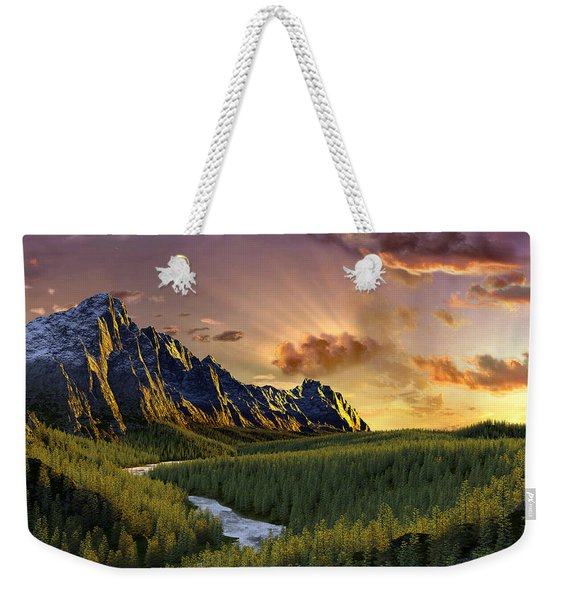 Against The Twilight Sky Weekender Tote Bag