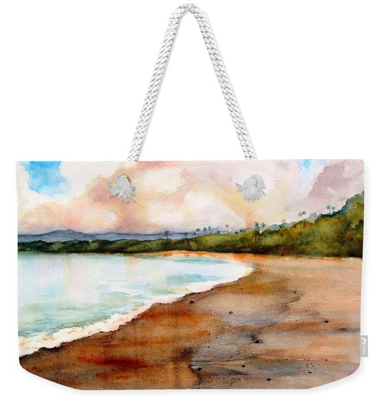 Aganoa Beach Savai'i Weekender Tote Bag