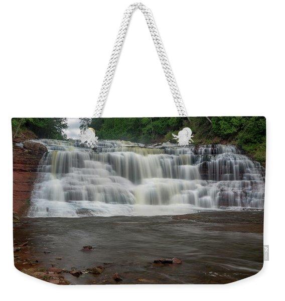 Agate Falls Weekender Tote Bag