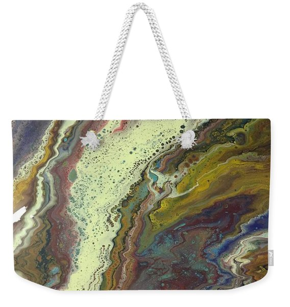 Agate Waterfall Weekender Tote Bag