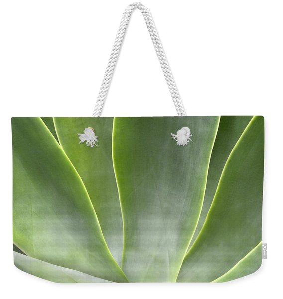 Agave Leaves Weekender Tote Bag