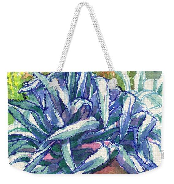 Agave Tangle Weekender Tote Bag