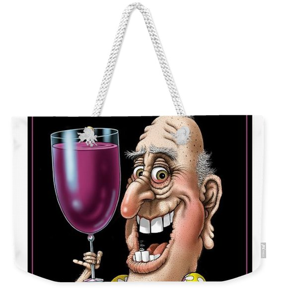 Age Gets Better With Wine Weekender Tote Bag