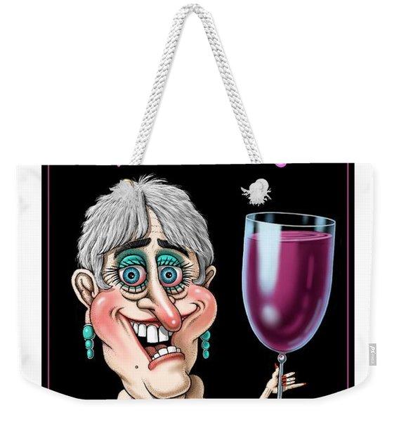 Age Gets Better Woman Weekender Tote Bag