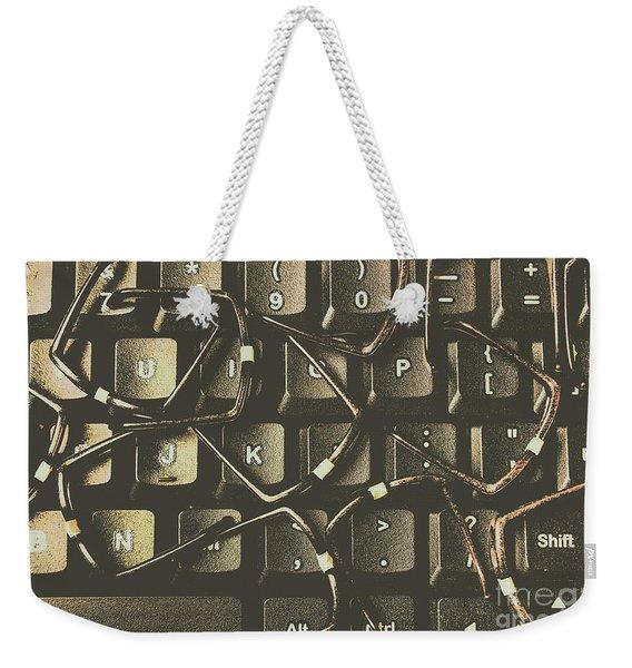 Age Of Decentralisation Weekender Tote Bag