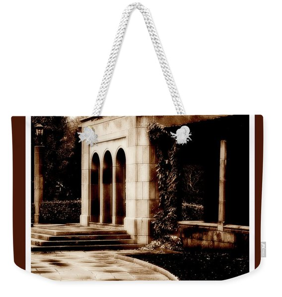 Aged By Time Weekender Tote Bag