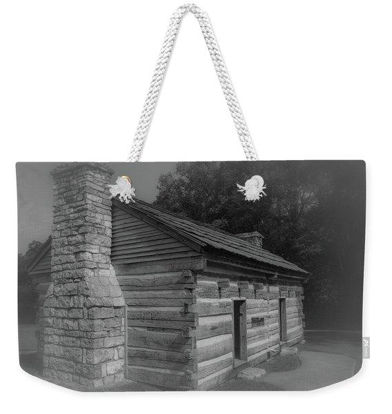 Aged Cabin At The Hermitage Weekender Tote Bag