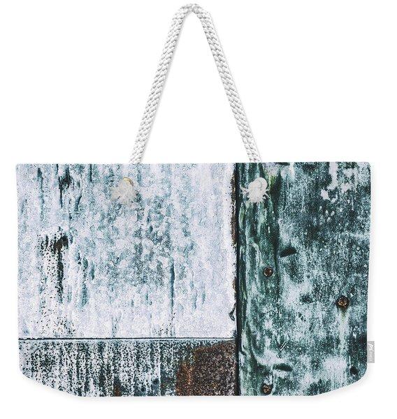 Aged Wall Study 4 Weekender Tote Bag
