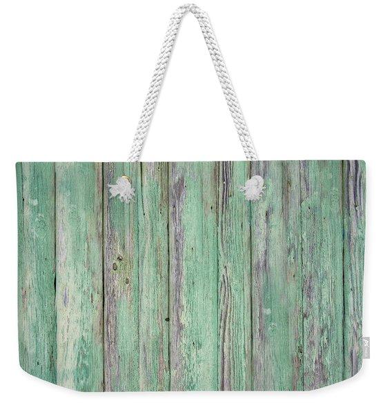 Aged Wood Weekender Tote Bag