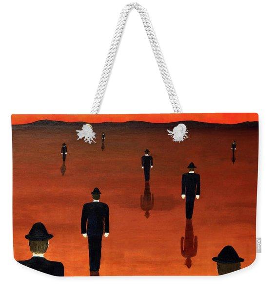 Agents Orange Weekender Tote Bag
