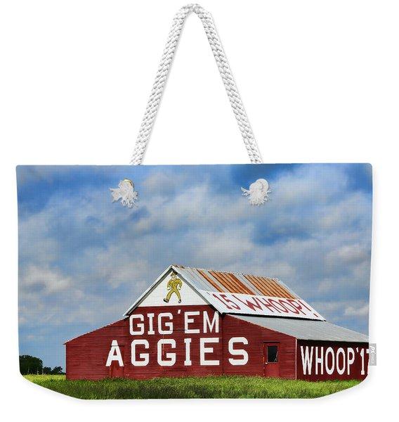 Aggie Nation Barn Weekender Tote Bag