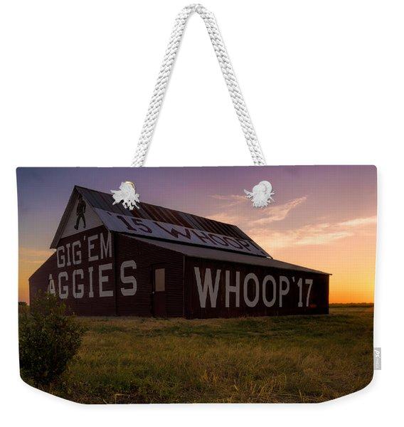 Aggie Sunset Weekender Tote Bag