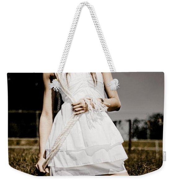 Agricultural Solitude Weekender Tote Bag