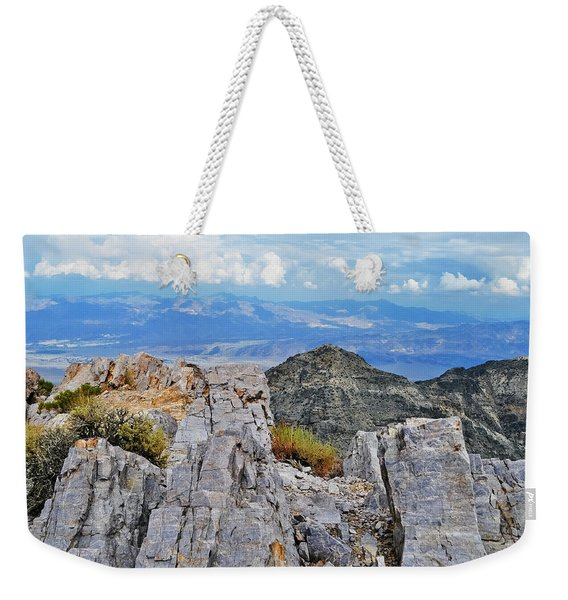 Aguereberry Point Rocks Weekender Tote Bag