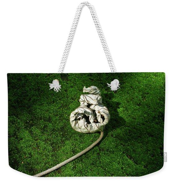Aguished Leaf Weekender Tote Bag