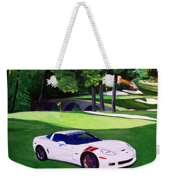 Augusta National With White C6 Weekender Tote Bag
