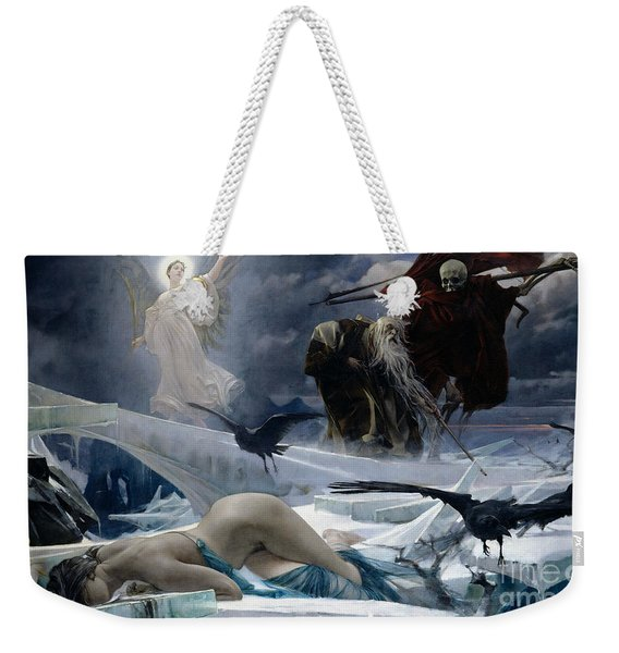 Ahasuerus At The End Of The World Weekender Tote Bag