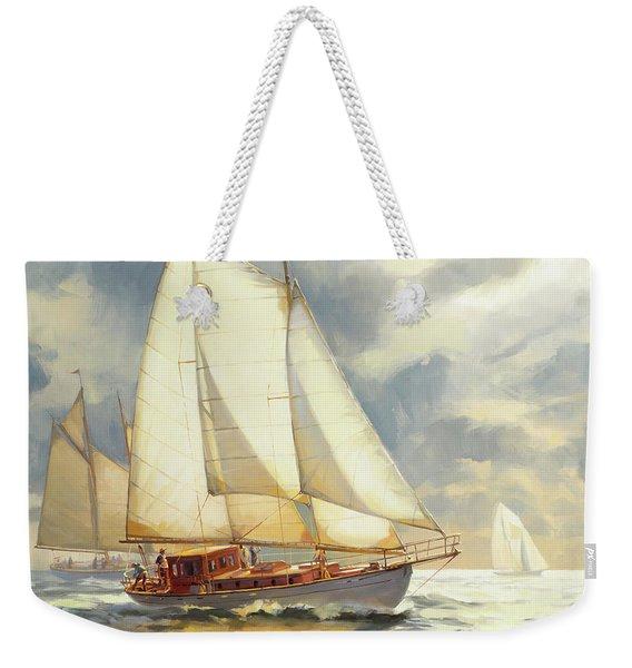 Ahead Of The Storm Weekender Tote Bag