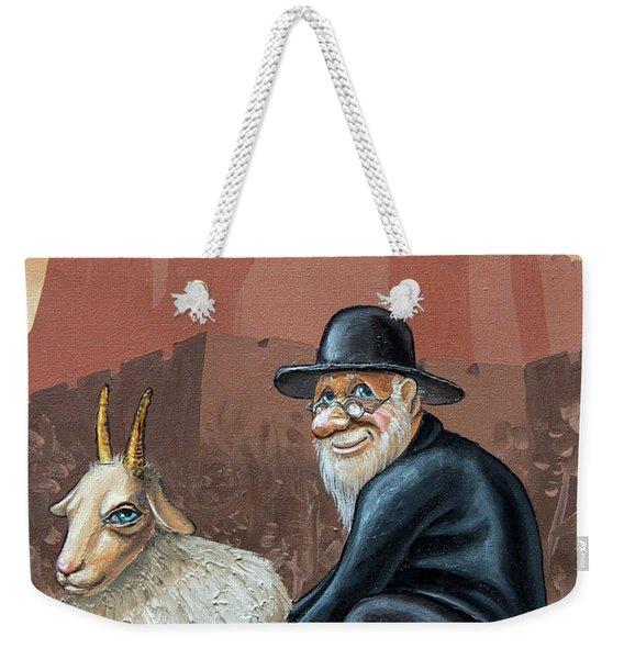 Aidishe Nahes.  Jewish Luck Weekender Tote Bag