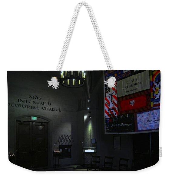 Aids Interfaith Memorial Chapel - San Francisco Weekender Tote Bag