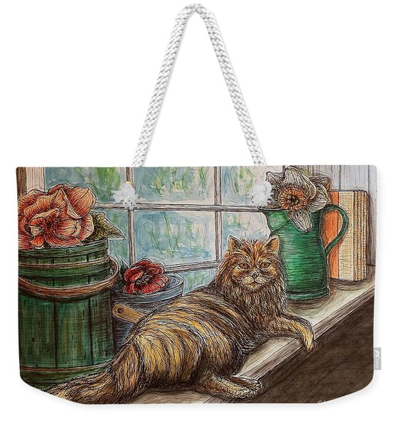 Ain't Misbehavin'... Weekender Tote Bag