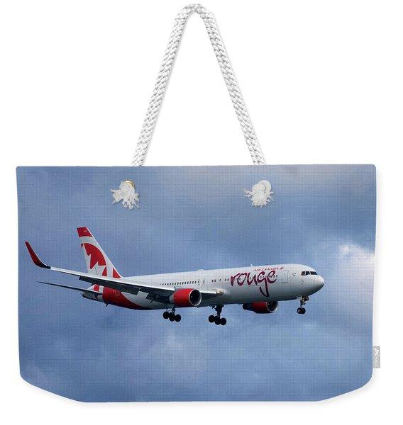Air Canada Rouge Boeing 767 Weekender Tote Bag