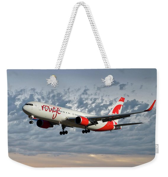 Air Canada Rouge Boeing 767-333 113 Weekender Tote Bag