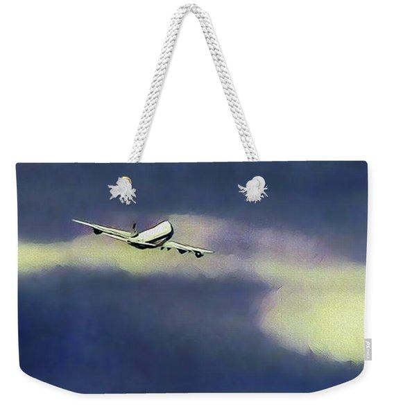 Air Force One - First Flight Weekender Tote Bag