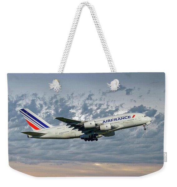 Air France Airbus A380-861 113 Weekender Tote Bag