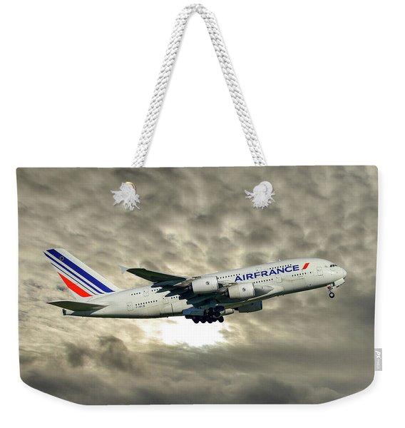 Air France Airbus A380-861 115 Weekender Tote Bag