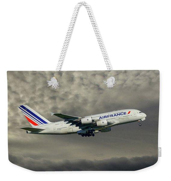 Air France Airbus A380-861 116 Weekender Tote Bag