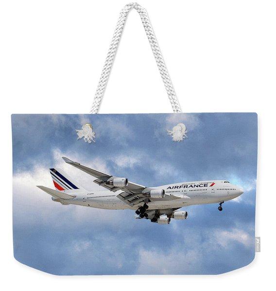 Air France Boeing 747-428 118 Weekender Tote Bag