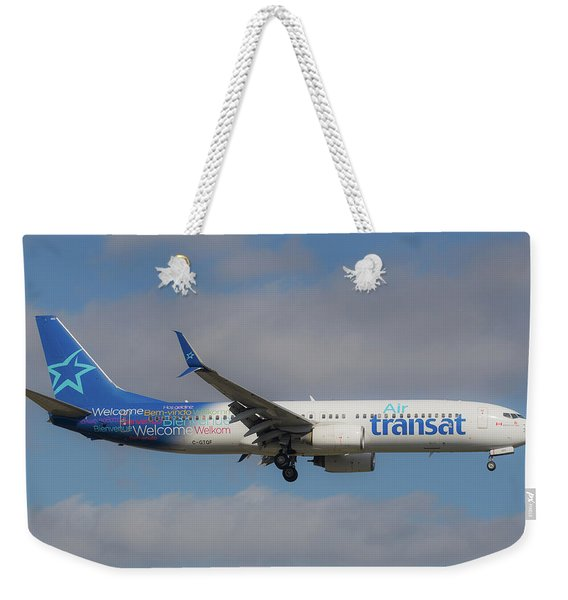 Air Transit Weekender Tote Bag