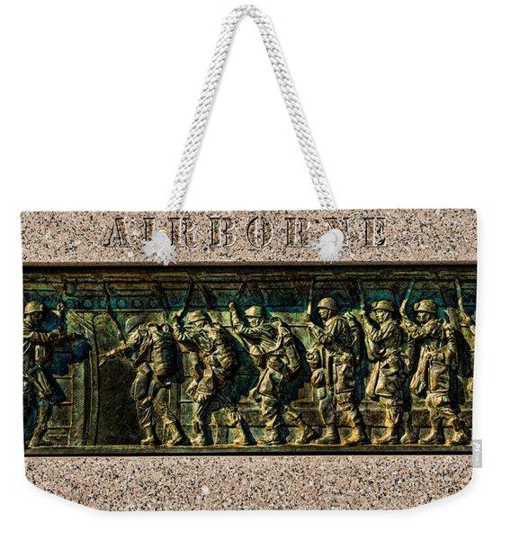 Airborne Weekender Tote Bag