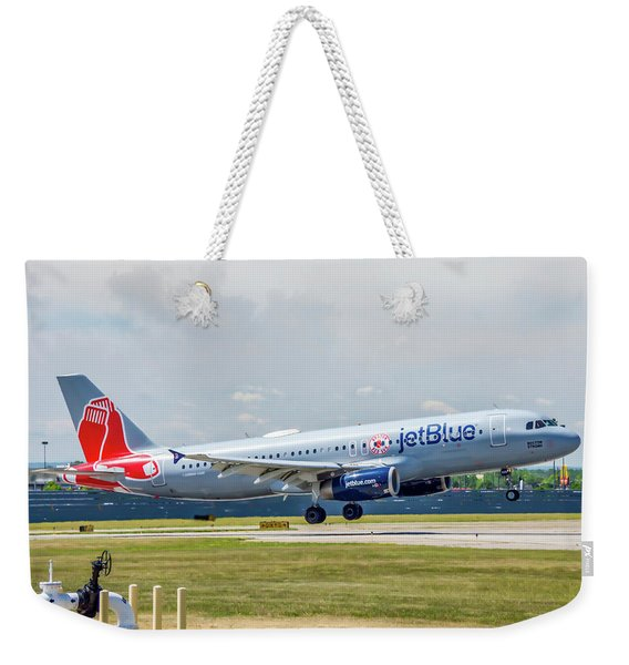 Airbus A320 Boston Strong Weekender Tote Bag