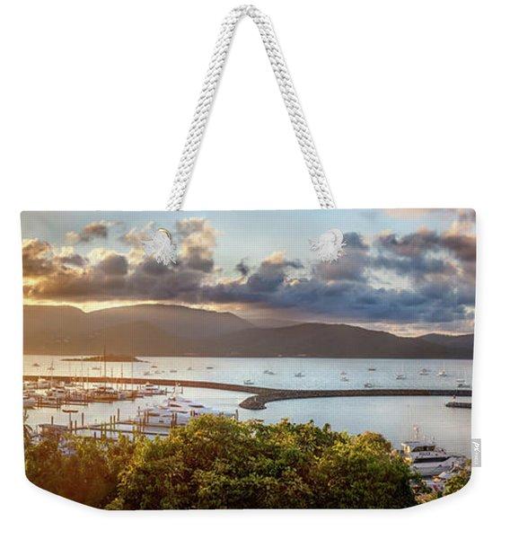 Airlie Beach Marina Weekender Tote Bag